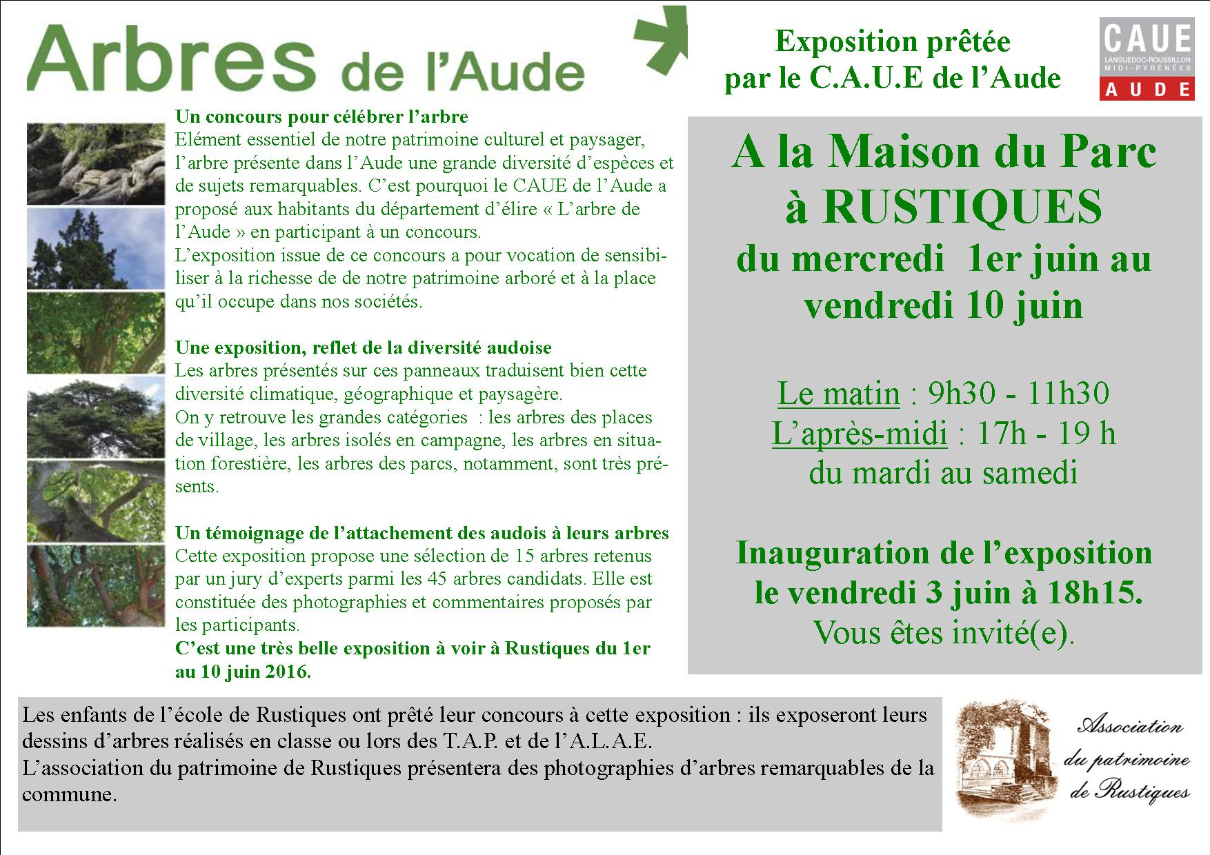 invitation expo arbres